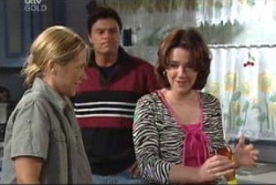 Steph Scully, Joe Scully, Lyn Scully in Neighbours Episode 3997