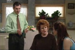 Karl Kennedy, Liz Conway, Elly Conway in Neighbours Episode 3998