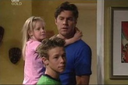 Emily Hancock, Evan Hancock, Leo Hancock in Neighbours Episode 3998