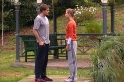 Marc Lambert, Felicity Scully in Neighbours Episode 4000