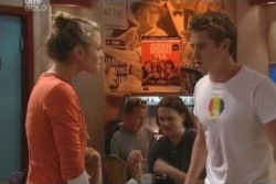 Tad Reeves, Felicity Scully in Neighbours Episode 4001