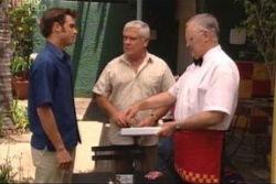Harold Bishop, Malcolm Kennedy, Lou Carpenter in Neighbours Episode 4002