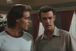 Drew Kirk, Malcolm Kennedy in Neighbours Episode 4003