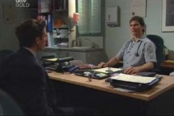 Marc Lambert, Darcy Tyler in Neighbours Episode 4004
