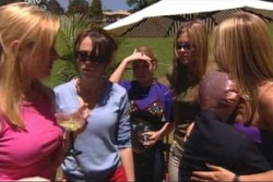 Dee Bliss, Libby Kennedy, Michelle Scully, Felicity Scully, Steph Scully in Neighbours Episode 4004