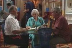 Harold Bishop, Rosie Hoyland, Lou Carpenter in Neighbours Episode 4005