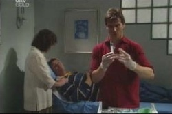 Lyn Scully, Joe Scully, Darcy Tyler in Neighbours Episode 4005