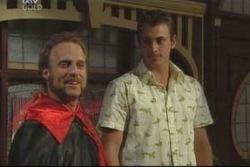 Rufus Spencer, Stuart Parker in Neighbours Episode 4005