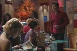 Penny Watts, Amelia Moon, Darcy Tyler in Neighbours Episode 4005