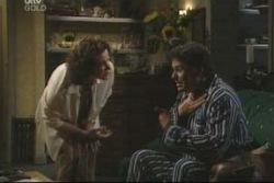 Lyn Scully, Joe Scully in Neighbours Episode 4005