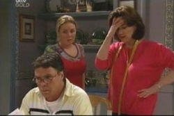 Michelle Scully, Lyn Scully, Joe Scully in Neighbours Episode 4006