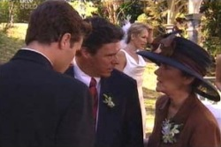Marc Lambert, Joe Scully, Lyn Scully, Steph Scully in Neighbours Episode 4008
