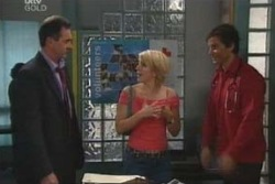 Karl Kennedy, Penny Watts, Darcy Tyler in Neighbours Episode 4009