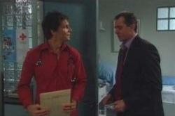Darcy Tyler, Karl Kennedy in Neighbours Episode 4009