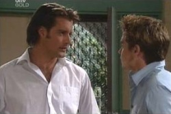Drew Kirk, Tad Reeves in Neighbours Episode 4009