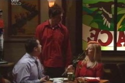 Toadie Rebecchi, Darcy Tyler, Dee Bliss in Neighbours Episode 4009