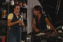 Stuart Parker, Drew Kirk in Neighbours Episode 4010