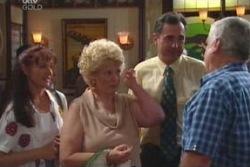 Susan Kennedy, Valda Sheergold, Karl Kennedy, Lou Carpenter in Neighbours Episode 4010
