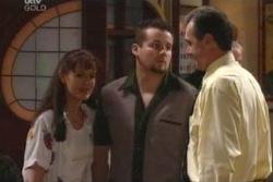 Susan Kennedy, Toadie Rebecchi, Karl Kennedy in Neighbours Episode 4010