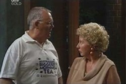 Harold Bishop, Valda Sheergold in Neighbours Episode 4011