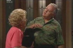 Valda Sheergold, Harold Bishop in Neighbours Episode 4012