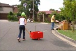 Summer Hoyland, Karl Kennedy in Neighbours Episode 4014