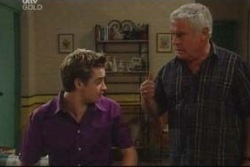 Tad Reeves, Lou Carpenter in Neighbours Episode 4014