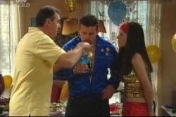 Karl Kennedy, Toadie Rebecchi, Dee Bliss in Neighbours Episode 4014