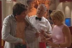 Darcy Tyler, Harold Bishop, Penny Watts in Neighbours Episode 4015