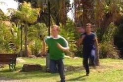 Richard Knott, Drew Kirk in Neighbours Episode 4015