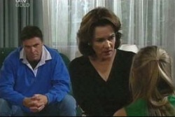 Joe Scully, Lyn Scully, Felicity Scully in Neighbours Episode 4016