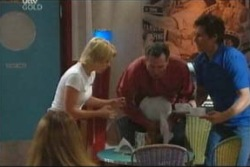 Penny Watts, Karl Kennedy, Darcy Tyler in Neighbours Episode 4019