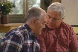Harold Bishop, Lou Carpenter in Neighbours Episode 4019