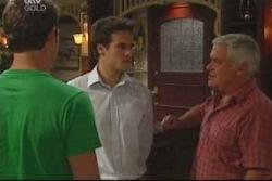 Stuart Parker, Marc Lambert, Lou Carpenter in Neighbours Episode 4020