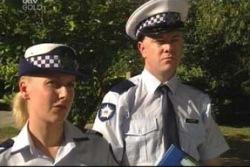 Sgt. Joanna Douglas in Neighbours Episode 4021