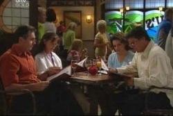 Karl Kennedy, Susan Kennedy, Lyn Scully, Joe Scully in Neighbours Episode 4022