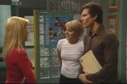 Dee Bliss, Penny Watts, Darcy Tyler in Neighbours Episode 4023