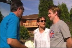 Karl Kennedy, Susan Kennedy, Tad Reeves in Neighbours Episode 4024