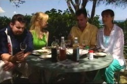 Toadie Rebecchi, Dee Bliss, Karl Kennedy, Susan Kennedy in Neighbours Episode 4024