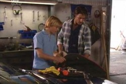 Boyd Hoyland, Drew Kirk in Neighbours Episode 4026