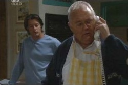 Drew Kirk, Harold Bishop in Neighbours Episode 4026