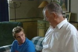 Harold Bishop, Tad Reeves in Neighbours Episode 4027