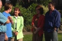 Harold Bishop, Tad Reeves, Susan Kennedy, Lyn Scully, Joe Scully in Neighbours Episode 4027