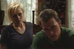 Dee Bliss, Stuart Parker in Neighbours Episode 4027
