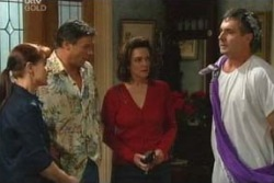 Susan Kennedy, Karl Kennedy, Joe Scully, Lyn Scully in Neighbours Episode 4029