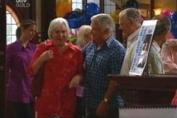 Rosie Hoyland, Lou Carpenter, Harold Bishop in Neighbours Episode 4029