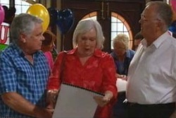 Lou Carpenter, Rosie Hoyland, Harold Bishop in Neighbours Episode 4029