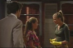 Marc Lambert, Michelle Scully, Felicity Scully in Neighbours Episode 4033