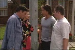 Joe Scully, Lyn Scully, Drew Kirk, Toadie Rebecchi in Neighbours Episode 4034