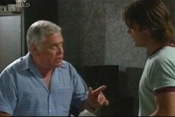Lou Carpenter, Drew Kirk in Neighbours Episode 4035